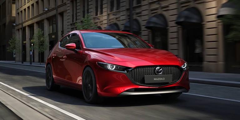 Mazda Mazda3 Skyactiv-X 180 afmetingen, gewicht en andere ... | 384x768